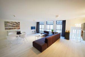 Teichwohnungen Harlingen Kurzaufenthalt De Bank Apartments Hotel